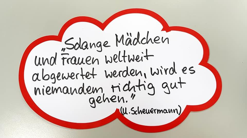 Ulrike Scheuermann TerreDesFemmes-Spendenaktion 2019-09
