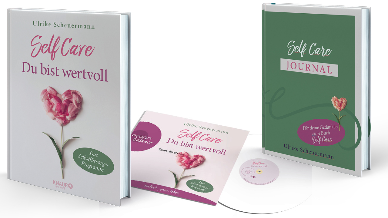 3D alle 3 Self Care Buchcovers Videoformat